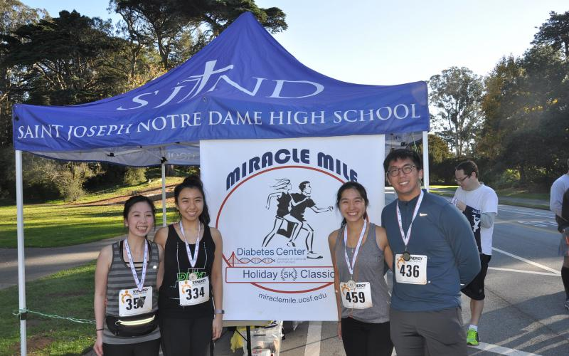 2018 Miracle Mile/ 5K Holiday Race | UCSF Diabetes Center